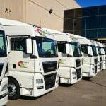 Aumenta en 319 el número de empresas de transporte de mercancías por carretera en España