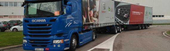 Harán falta tres autorizaciones para circular con un megacamión por todo el territorio español