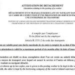 Francia obligará a registrar online los certificados de desplazamiento a partir del 1 de enero de 2017