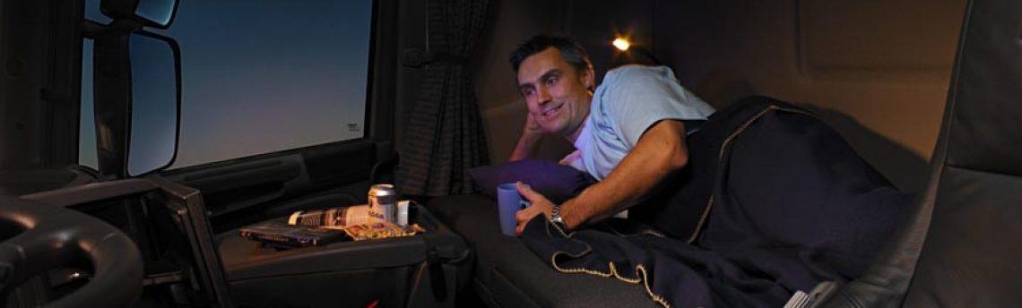Todo listo en Alemania para la prohibición del descanso semanal en el camión