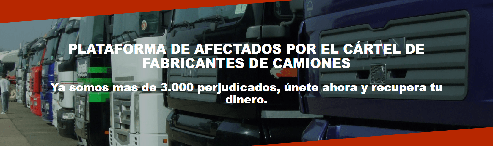 cártel fabricantes de camiones