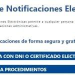 Guía para darse de alta en sistema de notificaciones electrónicas