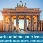 Servicio de registro de trabajadores desplazados en Alemania