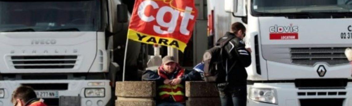 Se mantiene la convocatoria de huelga de conductores en Francia para el 9 de diciembre