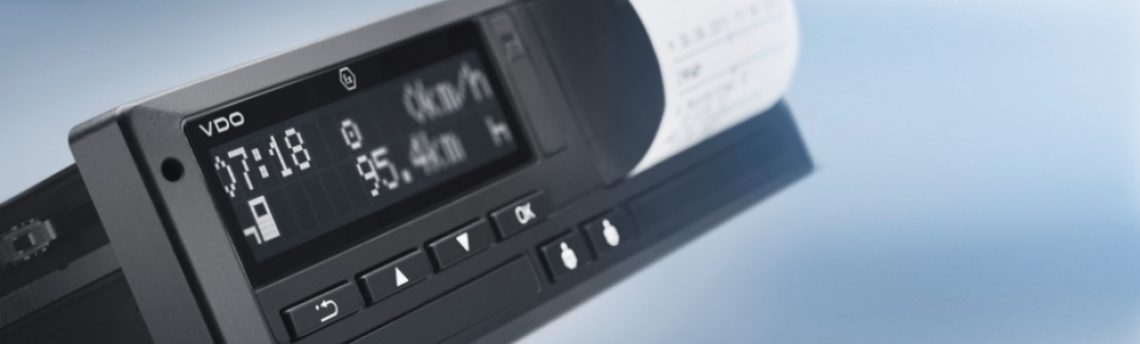El tacógrafo inteligente obligatorio a partir del 15 de junio para todos los vehículos de transporte de nueva matriculación