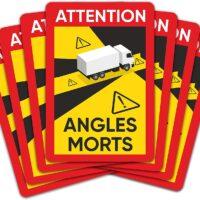 Disponibles los adhesivos de señalización ángulos muertos para camiones y autobuses