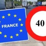 A partir del 2022 Francia prohibirá circular los camiones con más de 40 toneladas en transporte internacional